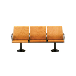 PSS 3 Seat/Back Unit | Waiting area benches | SCP