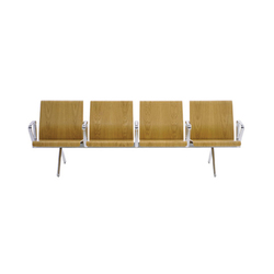 PSS2 4 Seat/Back Unit | Waiting area benches | SCP