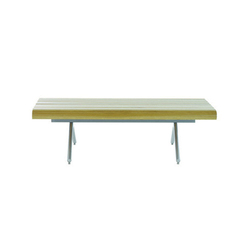 PSS2 3 Seat Slatted Bench | Waiting area benches | SCP