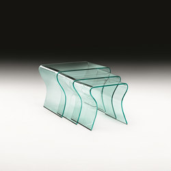 CHARLOTTE TRIS | Side tables | Fiam Italia