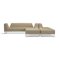 UGO 301 + 202 + 203 + 103 | Sistemi di sedute componibili | LK Hjelle