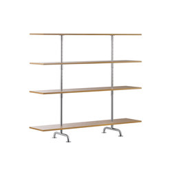 S44 Bookshelf | Library shelving systems | TECTA