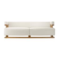 F51-3 Gropius-sofa 3 seats | Lounge sofas | TECTA