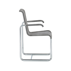 D20 Cantilever chair with armrests | Restaurant chairs | TECTA