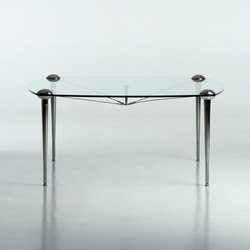 Ludwig square table | Mesas comedor | Baleri Italia by Hub Design