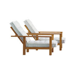 InOut 09 | Garden armchairs | Gervasoni