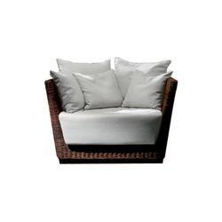 Black 01 | Garden armchairs | Gervasoni