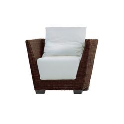 Black 05 | Garden armchairs | Gervasoni