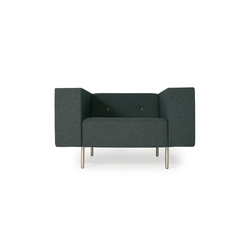 bottoni Single seater | Poltrone lounge | moooi