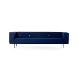 bottoni Triple seater | Sofás lounge | moooi