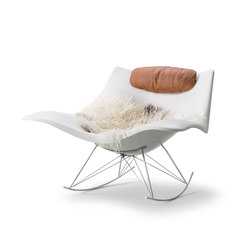 Stingray Rocking Chair | Fauteuils d'attente | Fredericia Furniture