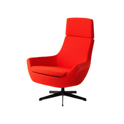 Happy Swing chair high back | Poltrone lounge | Swedese
