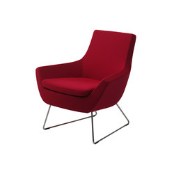 Happy easy chair low back | Lounge chairs | Swedese