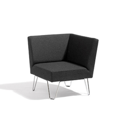 Qvarto corner unit | Modular seating elements | Blå Station