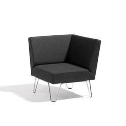 Qvarto Eckelement | Modulare Sitzelemente | Blå Station