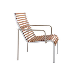 Extempore low chair/footrest | Garden armchairs | extremis