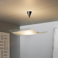Velo Suspension lamp | General lighting | FontanaArte