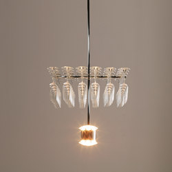 Morocco Suspension lamp | General lighting | FontanaArte