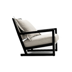 Clio | Lounge chairs | Maxalto