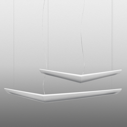 Mouette Simmetrica/Asimmetrica Suspension Lamp | General lighting | Artemide