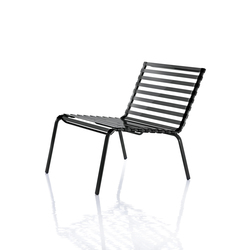 Striped Low chair | Fauteuils de jardin | Magis