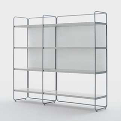 Primo Piano bookshelf | Office shelving systems | Artelano