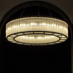Estadio | Pendant Lamp | Suspended lights | Santa & Cole