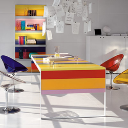 Stripes Collection | Individual desks | Fantoni