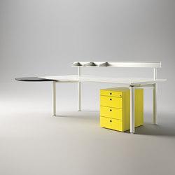 Mèta | Individual desks | Fantoni