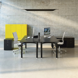 Mèta | Tischsysteme | Fantoni