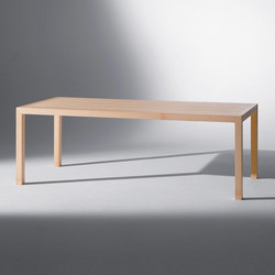 Galler | Block table | Dining tables | Schmidinger Möbelbau