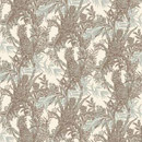 PINEAPPLE TOILE WALLPAPER | Carta da parati / carta da parati | Timorous Beasties