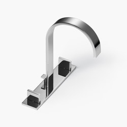 MEM - Three-hole basin mixer | Wash basin taps | Dornbracht