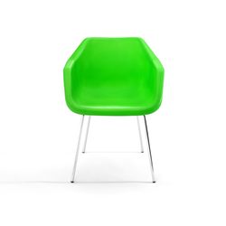 Poly armchair | Visitors chairs / Side chairs | Loft