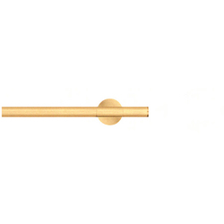 Modulo Epos brushed brass | Curtain fittings | Blome