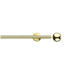 Modulo Cosmos polished brass | Curtain fittings | Blome