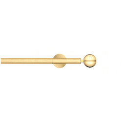 Modulo Cosmos brushed brass | Curtain fittings | Blome