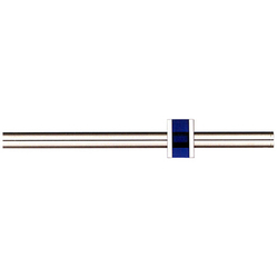 Modulo Tecnico blue | Curtain fittings | Blome