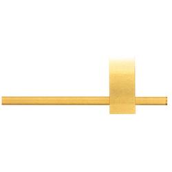 Modulo Arco brushed brass | Curtain fittings | Blome