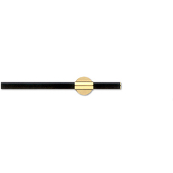 Bicolor Epos black-messing | Curtain fittings | Blome