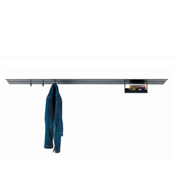 Hang shelving system | Built-in wardrobes | Desalto