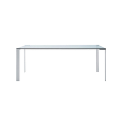 Liko Glass table | Dining tables | Desalto