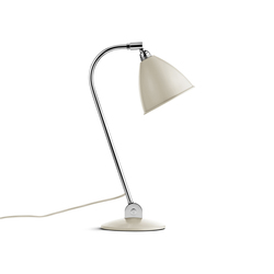 Bestlite BL2 Table lamp | Off-White/Chrome | Arbeitsplatzleuchten | GUBI