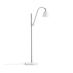 Bestlite BL3 S Floor lamp | Matt White/Chrome | General lighting | GUBI
