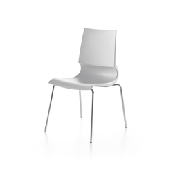 Ricciolina 4 legs polypropylene | Multipurpose chairs | Maxdesign