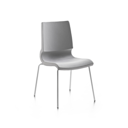 Ricciolina_4 legs_upholstered | Mehrzweckstühle | Maxdesign