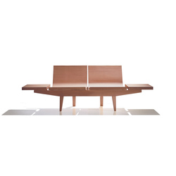 Trienal BC 7003 | Beam / traverse seating | Andreu World
