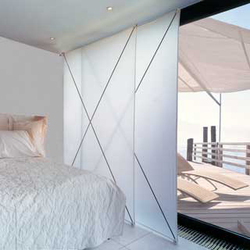 hochwertige raumteiler aus stoff auf architonic. Black Bedroom Furniture Sets. Home Design Ideas