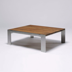 Indoor/Outdoor Group Low Table | Garten-Couchtische | Marmol Radziner Furniture