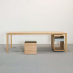 DINAVIER table | Escritorios individuales | Sanktjohanser